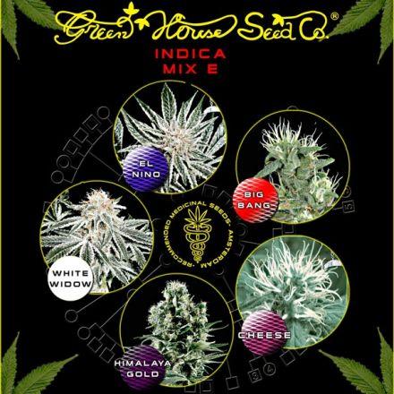 Indica Mix E - semínka 5 ks feminizovaná semínka Green House Seeds