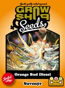 Orange Bud Diesel 5 feminizovaných semien Growshop