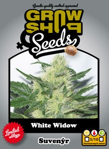 White Widow 10 feminizovaných semien Growshop