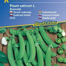 Cukrový hrášek Zuccola - semena hrachu