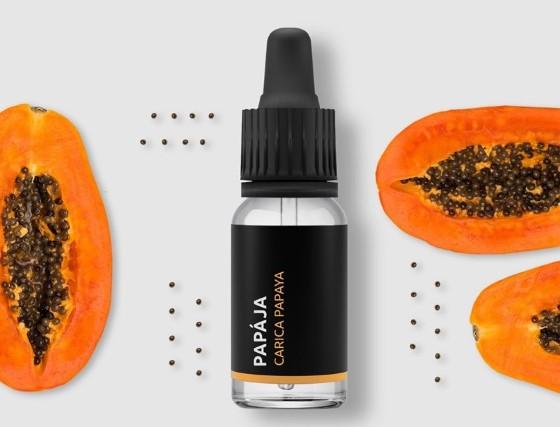 Extrakt z papay je mimořádně výživný a bohatý na vitamíny A, C, E, kromě toho obsahuje také vysokou dávku železa a dalších minerálů a stopových prvků