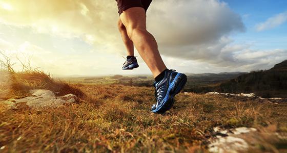 sport a běh a marihuana