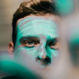 CBD květy & pečující kosmetika: Pleťová maska