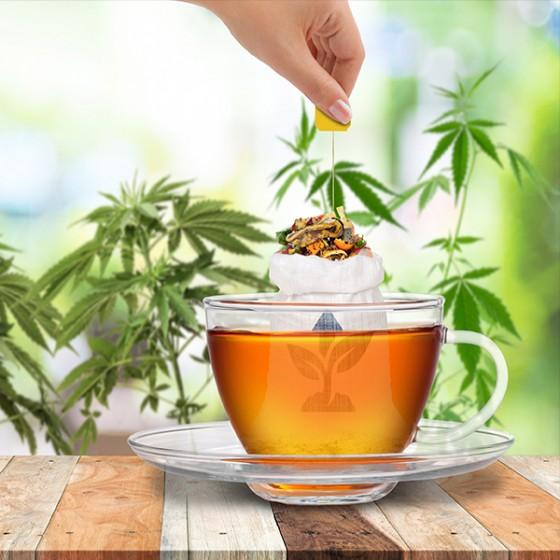 Čaj z Technického aj Liečebného Konope na predpis