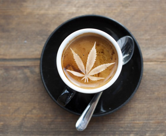 Proč by káva mohla být opakem konopí?
