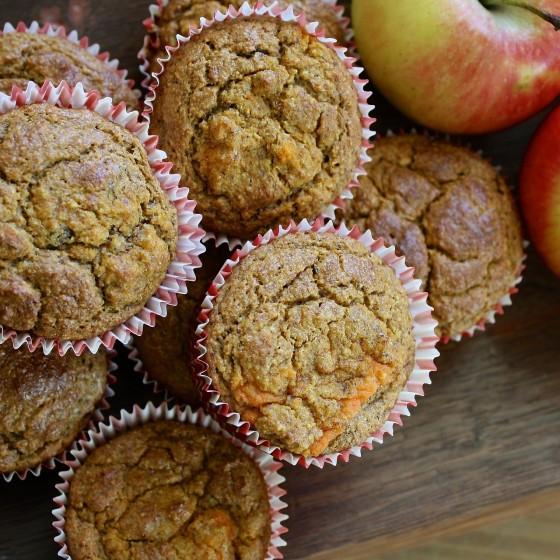KONOPÍ V KUCHYNI: Podzimní muffiny
